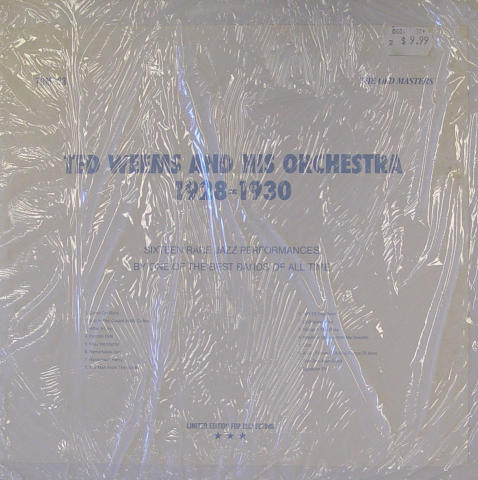 Ted Weems & His Orchestra Vinyl 12""