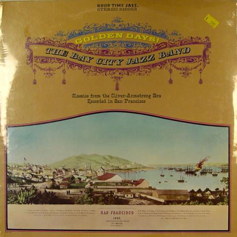 "The Bay City Jazz Band Vinyl 12"""