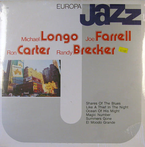 Michael Longo / Joe Farrell / Ron Carter / Randy Brecker Vinyl 12""