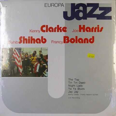 """Kenny Clarke / Joe Harris / Sahib Shihab / Francy Boland Vinyl 12"""""""