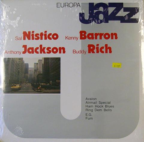 "Sal Nistico / Kenny Barron / Anthony Jackson / Buddy Rich Vinyl 12"""