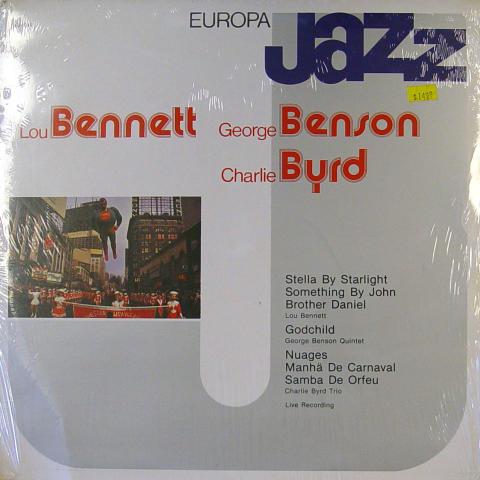 """Lou Bennett / George Benson / Charlie Byrd Vinyl 12"""""""