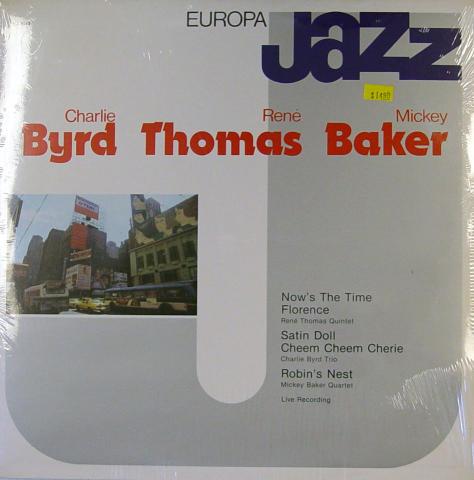 """Charlie Byrd / Rene Thomas / Mickey Baker Vinyl 12"""""""