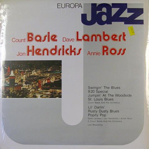 "Count Basie / Dave Lambert / Jon Hendricks / Annie Ross Vinyl 12"""