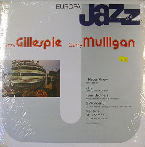 """Dizzy Gillespie / Gerry Mulligan Vinyl 12"""" (New)"""