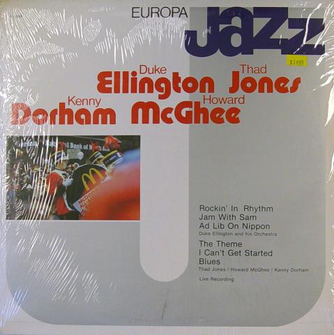 "Duke Ellington / Thad Jones / Kenny Dorham / Howard McGhee Vinyl 12"""