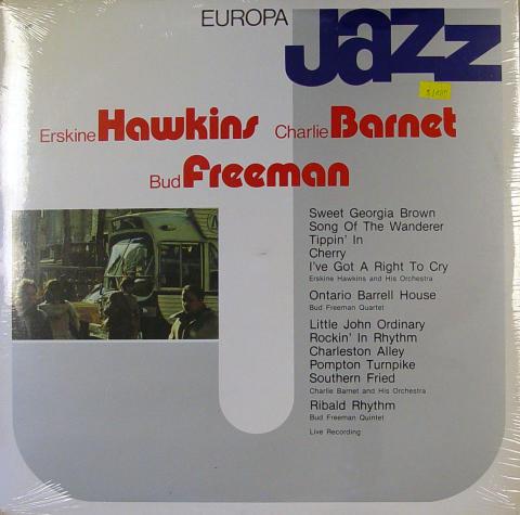 "Erskine Hawkins / Charlie Barnet / Bud Freeman Vinyl 12"""