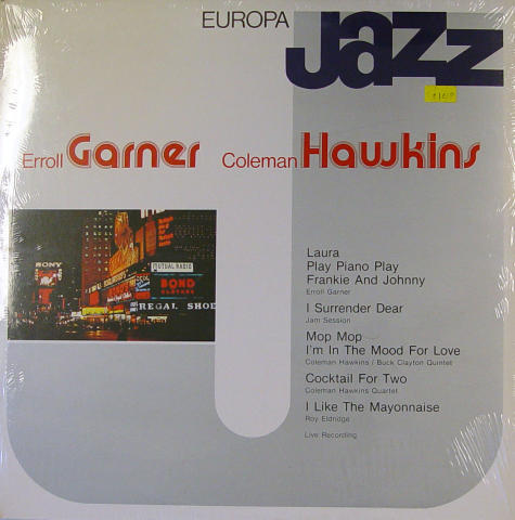 "Erroll Garner / Coleman Hawkins Vinyl 12"" (New)"