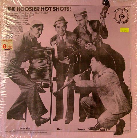 """The Hoosier Hot Shots Vinyl 12"""""""
