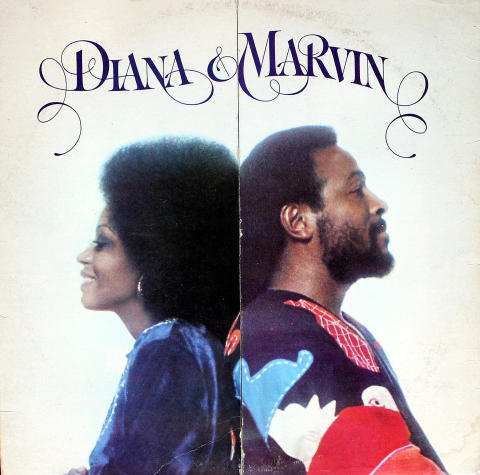 "Diana & Marvin Vinyl 12"""