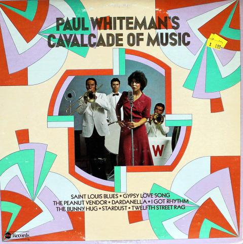 "Paul Whiteman Vinyl 12"""
