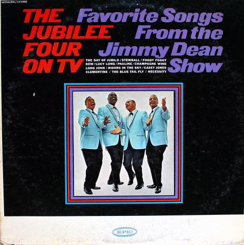 """The Jubilee Four On TV Vinyl 12"""""""