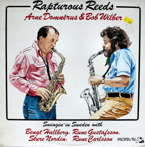 "Arne Domnerus & Bob Wilber Vinyl 12"""