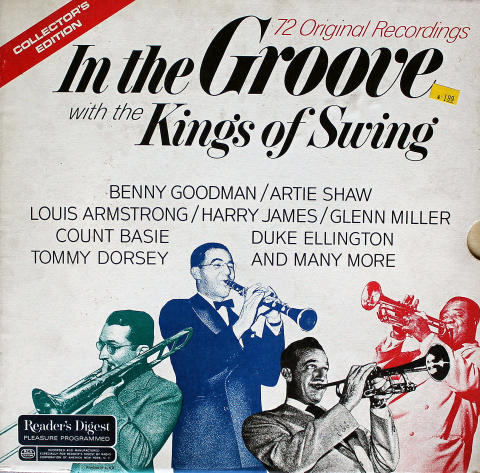 In The Groove With The Kings Of Swing Vinyl 12""