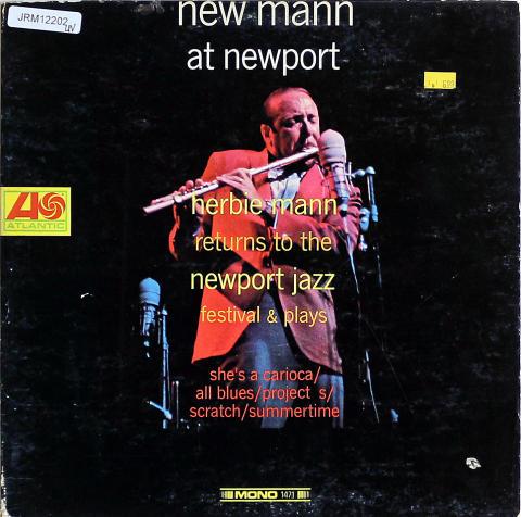 "Herbie Mann Vinyl 12"""