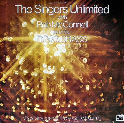 """The Singers Unlimited / Rob McConnell & The Boss Brass Vinyl 12"""""""