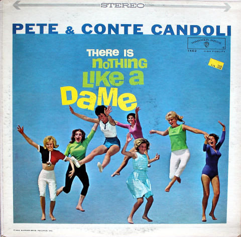 "Pete & Conte Candoli Vinyl 12"""