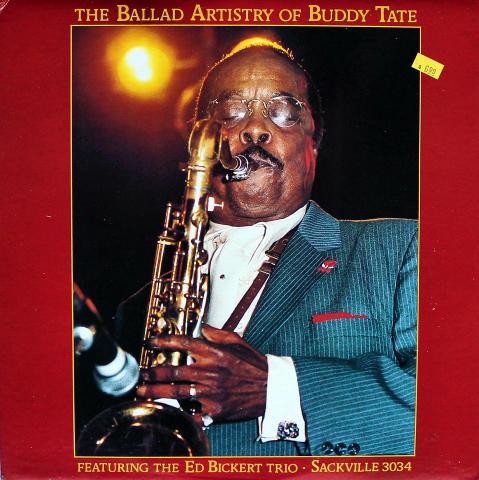 "The Ballad Artistry Of Buddy Tate: Featuring Ed Bickert Trio Vinyl 12"" (Used)"