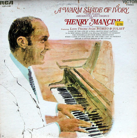 "Henry Mancini, The Piano, Orchestra And Chorus Vinyl 12"""