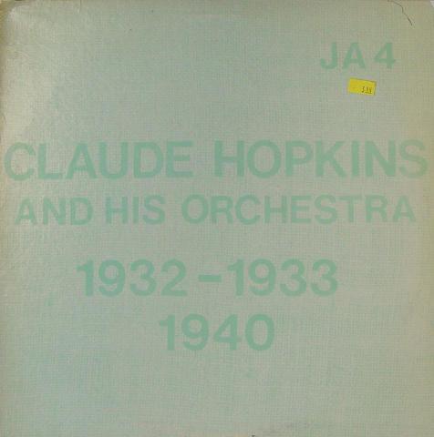"""Claude Hopkins & His Orchestra Vinyl 12"""""""