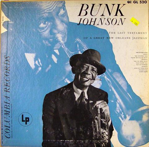 "Bunk Johnson Vinyl 12"""