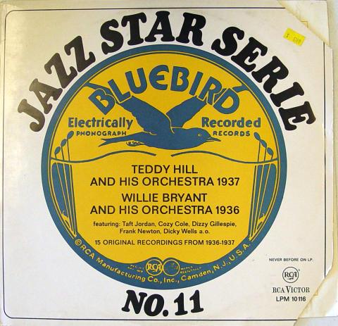 "Jazz Star Serie No. 11: 1936-1937 Vinyl 12"""