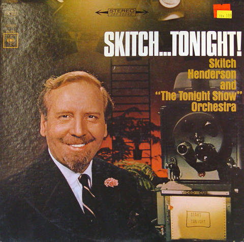 """Skitch Henderson And """"The Tonight Show"""" Orchestra Vinyl 12"""""""