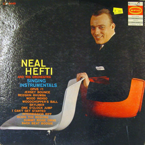 """Neal Hefti And His Orchestra Vinyl 12"""""""