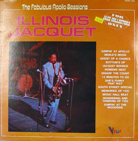 """Illinois Jacquet Vinyl 12"""""""
