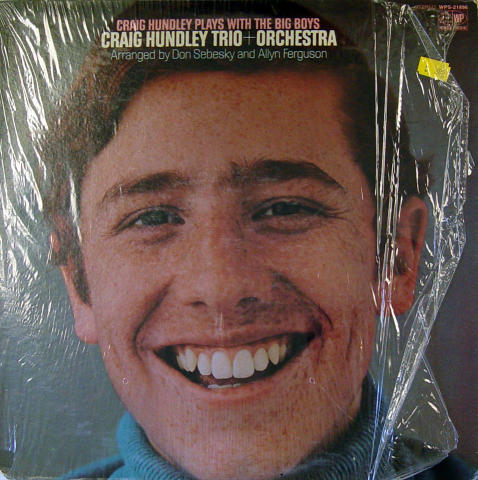 "Craig Hundley Trio + Orchestra Vinyl 12"""