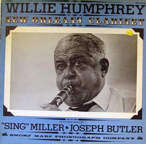 """Willie Humphrey Vinyl 12"""""""