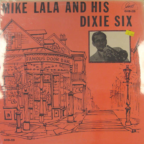 Mike Lala And His Dixie Six Vinyl 12""