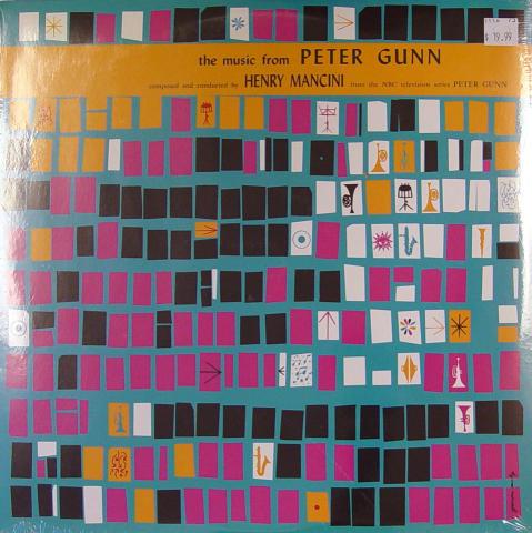 "Peter Gunn Vinyl 12"""
