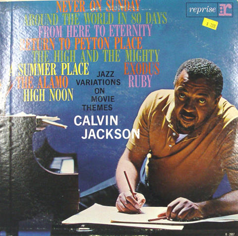"Calvin Jackson Vinyl 12"""