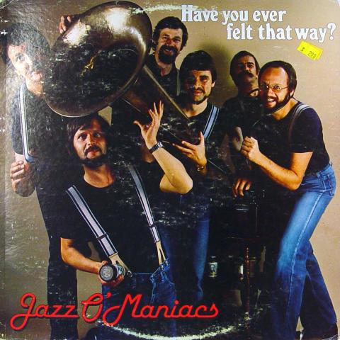 "Jazz O'Maniacs Vinyl 12"""