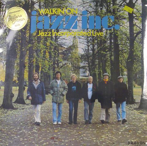 """Jazz Incorporated Live Vinyl 12"""""""