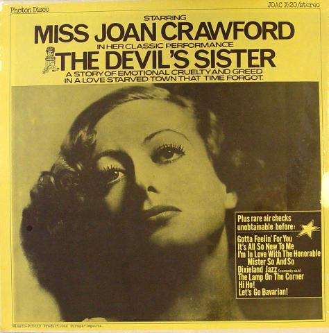 "Joan Crawford Vinyl 12"" (New)"