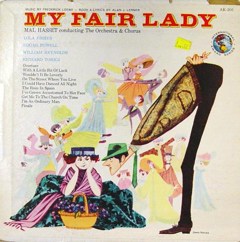 "My Fair Lady Vinyl 12"""