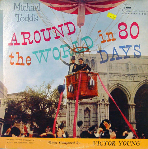 Around The World In 80 Days Vinyl 12""