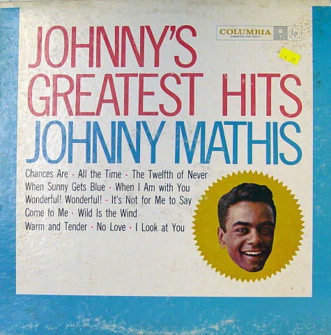 Johnny Mathis Vinyl 12""