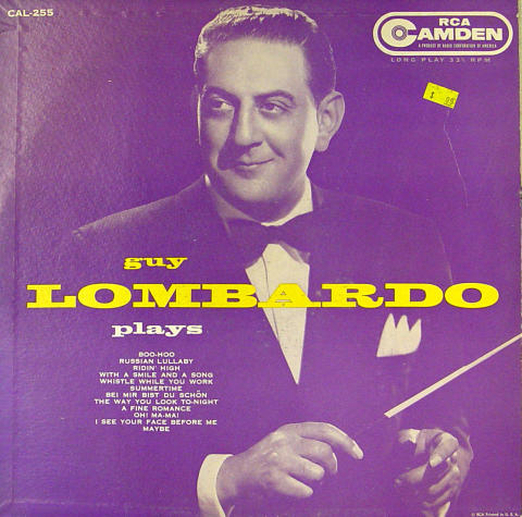 "Guy Lombardo Vinyl 12"""