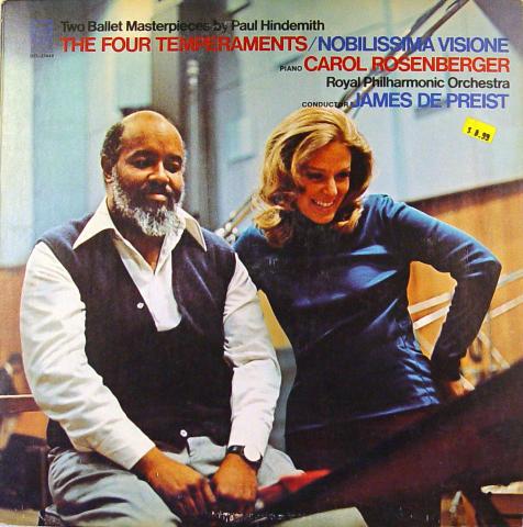 "James De Preist Vinyl 12"""