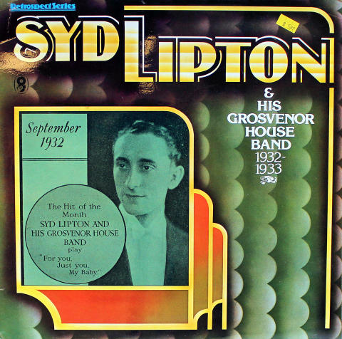 Syd Lipton & His Grosvenor House Band Vinyl 12""