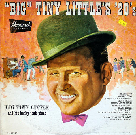 Big Tiny Little And His Honky Tonk Piano Vinyl 12""