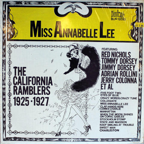 The California Ramblers Vinyl 12""