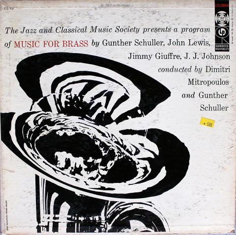 """Music For Brass Vinyl 12"""""""