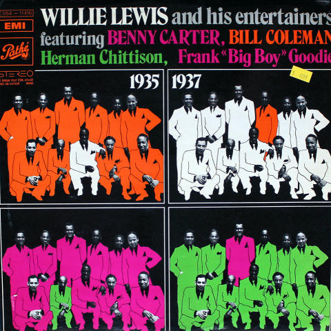 "Willie Lewis & His Entertainers Vinyl 12"""
