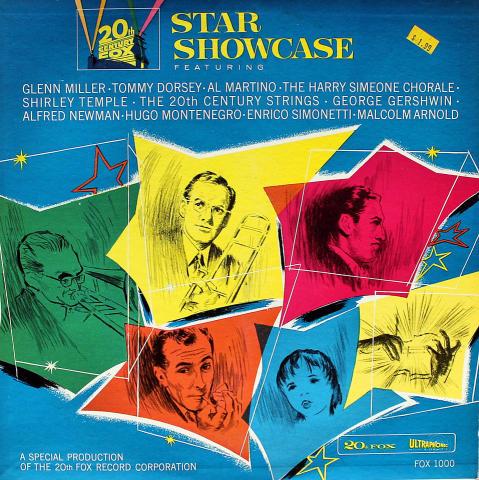 "20th Century Fox Star Showcase Vinyl 12"""