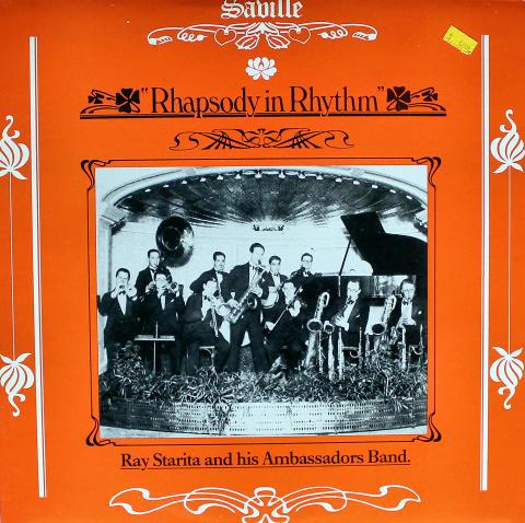 """Ray Starita And His Ambassadors Band Vinyl 12"""""""