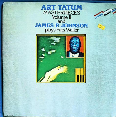"""Art Tatum / James P. Johnson Vinyl 12"""" (Used)"""